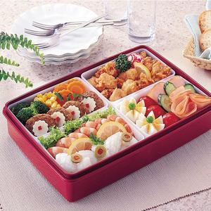 1人付款  淘宝 日本原装进口prime nakamura 长方形双层便当盒 日式