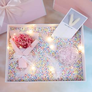 ins風生日禮物女馬卡龍盒子大號空盒伴手禮禮品盒少女心創意禮盒