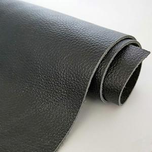 牛皮皮料真皮面料皮子頭層牛皮黑色荔枝紋沙發床頭軟包整張牛皮料
