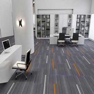 商用寫字樓辦公室方塊長條拼接地毯滿鋪學校酒店會議室公司大面積