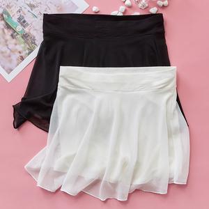 安全褲女防走光打底褲外穿短褲夏天薄款可外穿保險裙褲一體假倆件