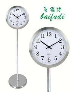 立式创意典雅落地钟时尚静音座钟表欧式现代客厅立钟卧室石英挂钟