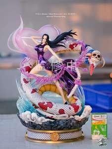 【小贼猫】 FOC 女帝 波雅 汉库克 七武海 海贼王 GK 限量 雕像
