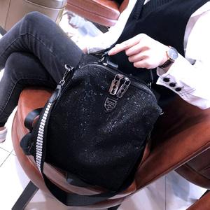 WFF旅行雙肩包女2020新款大容量亮片背包女百搭潮流個性時尚背包