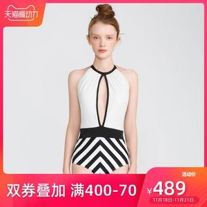 【19新品】IMIS愛美麗女士泳裝 經典黑白無鋼圈時尚連體泳衣