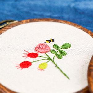 十字绣小件幼儿园儿童手工diy刺绣材料包简单绣可爱手工 学生款