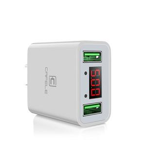 【自营】充电头苹果6充电器头安卓手机通用双口华为快充2安多功能