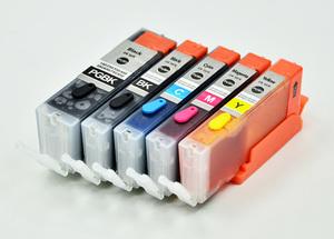 印维 CANON IP7220墨盒可加墨 250 251 IX6720 6820 MG5520 MG5620 MG6620 MX722 MX922打印机可填充连供墨盒