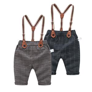 2019新款0男婴儿童装1-3周岁女宝宝春装套装洋气2夏装季背带裤潮
