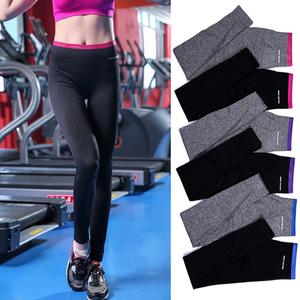 蘿莉同款運動緊身小腳褲高彈力跑步瑜伽健身長褲速幹顯瘦訓練褲女