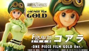 魂 限定 海賊王FIGUARTS ZERO 歌雅拉 FILM GOLD KOALA POP