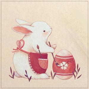 国外画师ninar彩铅水彩可爱卡通动物插画画芯手绘临摹素材图155张