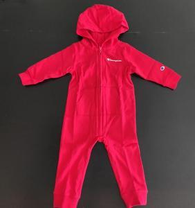 美國采購冠軍童裝  Champion 嬰兒連體衣爬行服圍脖套裝寶寶包屁