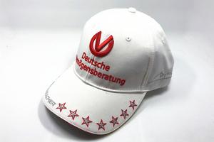 F1賽車周邊配件擺件帽子舒馬赫2012年白色棒球帽鴨舌帽