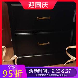 专业宜家国内代购恩瑞代两斗抽屉柜客厅柜子抽屉式储物柜新款特价