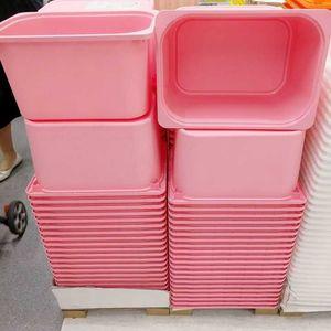 0.54宜家国内代购舒法特储物盒儿童衣物/玩具收纳箱抽屉式整理箱