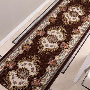 欧式走廊地毯过道家用防滑红地毯玄关进门垫入户门口长条地垫定制