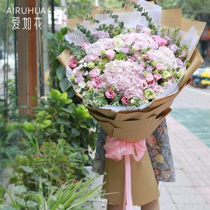 网红巨型大花束玫瑰花生日北京广州深圳上海成都重庆鲜花速递同城