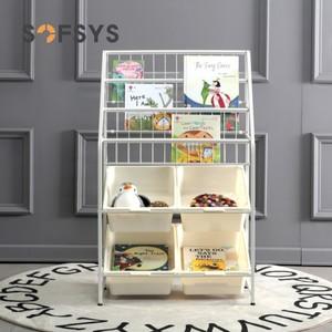 儿童玩具收纳架幼儿园宝宝多层玩具分类架子家用置物整理柜收纳箱