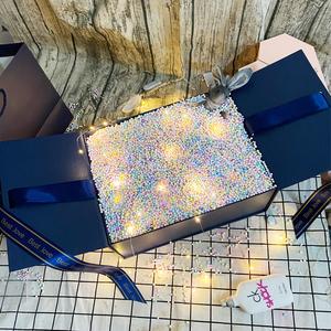 禮品盒超大號網紅韓版驚喜送男女朋友高檔流星球禮物盒空盒鞋盒