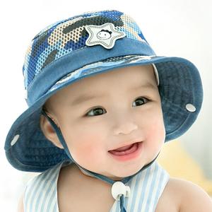 优质薄款儿童太阳帽