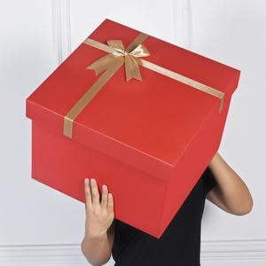 紅色禮盒超大生日空盒籃球禮品盒子大號禮物盒男女生款特大包裝盒