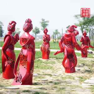 少数民族雕塑