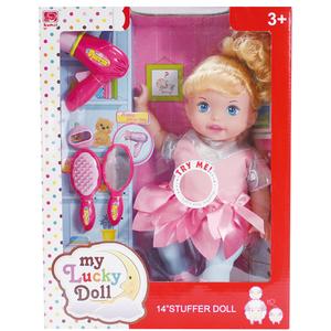 美发娃娃图片