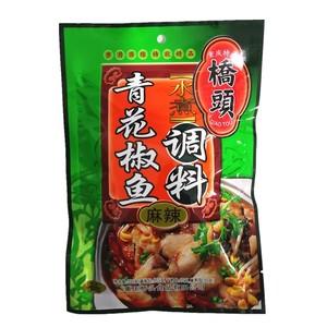 桥头青花椒鱼调料200g  重庆特产火锅料 水煮鱼佐料 四川鱼火锅料