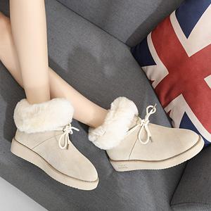 女款棉鞋新款雪地靴