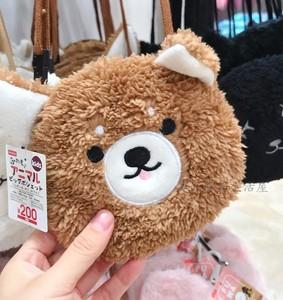 日本大創DAISO 可愛小動物 熊貓小貓柯基 斜挎包 小物兒