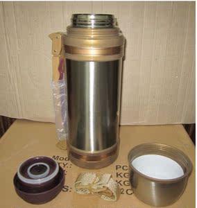 淘宝感恩节送父母奇发新款真空双层不锈钢保温壶/旅游壶保温杯2.2升