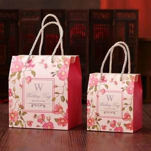 Candy gift box empty candy baby pink Queen wedding birthday