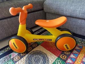 luddy樂的兒童平衡車1003 1006滑步車寶寶溜溜車學