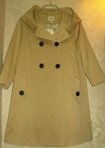 佐曲2010秋装新款专柜正品韩版休闲时尚风衣AF1070