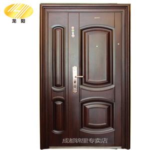 龙阳甲级防盗门安全门子母门防火棉入户门新型转体锁进户门