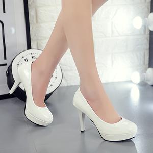 女高跟鞋细跟10厘米