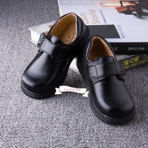 学生哥黑色男童皮鞋儿童童鞋四季学生校鞋演出鞋搭配校服礼仪鞋