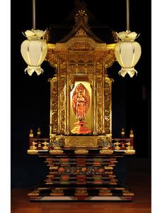 禅云宫殿6尺金刚殿佛龛 神龛佛柜带门佛坛 佛具高档工艺品gd-001图片