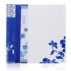 广博资料册 青花瓷A3026 60页插页夹试卷夹 文件夹A4创意文件册