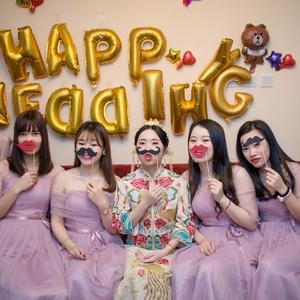 生日装饰派对装饰用品婚礼结婚拍照道具接亲聚会搞怪胡子道具包邮