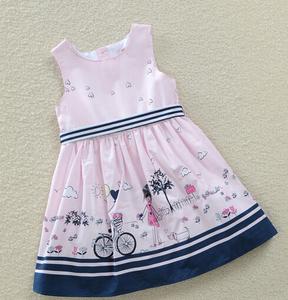 2015春夏款純棉品牌童裝女童連衣裙 歐美外貿原單兒童裙子包郵