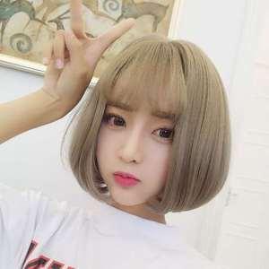 男生宝宝发带刘海刘海头箍女短发中老年发包盘发发髻假发套 假发图片