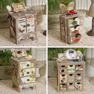 手工木质收纳盒