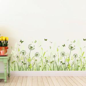绿色植物贴画