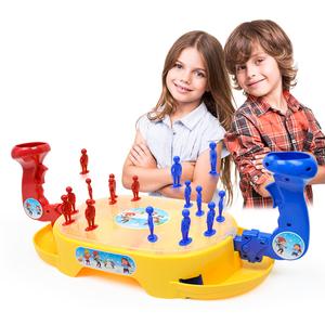 益智彈射彈珠 親子互動雪人對戰雙人比賽游戲 兒童桌面游戲玩具