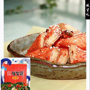 肉棒新娘_韩式蟹肉棒assi新娘子蟹肉16根韩国寿司用454g紫菜包饭寿司用长度
