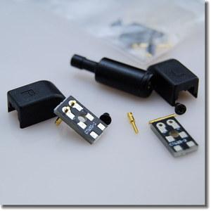 音特美ER4B ER4PT ER4S ER6I耳機插針 維修替換插頭