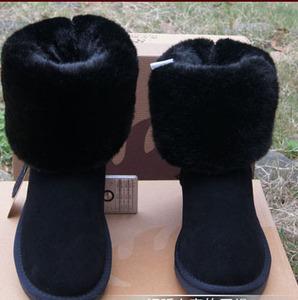 情侶款大碼棉鞋5815高筒雪地靴女靴5825中筒女靴低筒冬季保暖女鞋