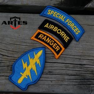 美陆军特种兵徽章 USARMY SF 军迷M65 M43风衣臂章 刺绣徽章